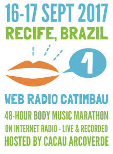 Body music marathon on internet radio - live and recorded - September 16-17, 2017