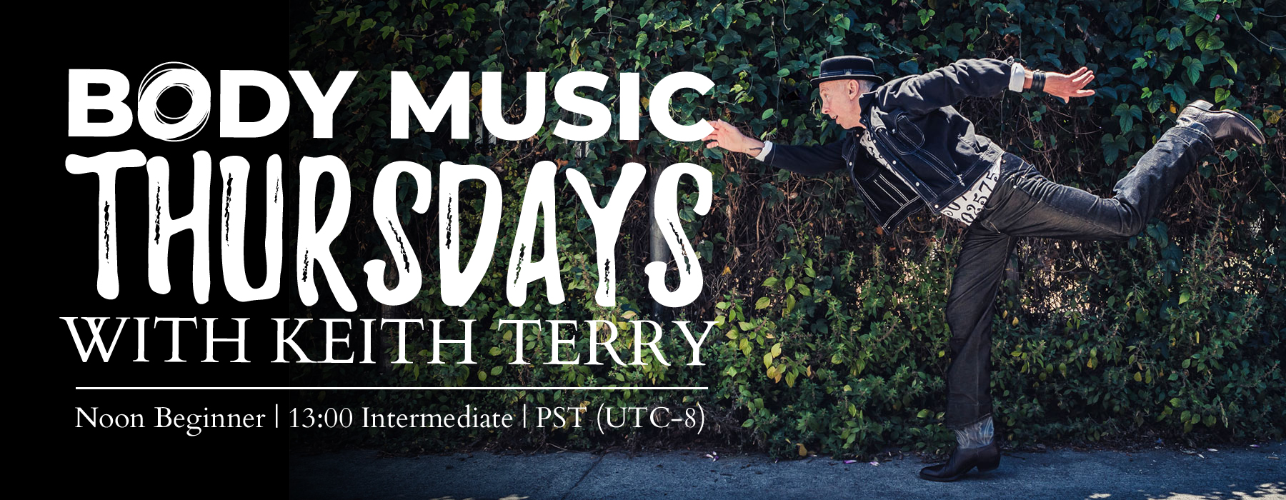 Body Music Thursdays - online classes with Keith Terry